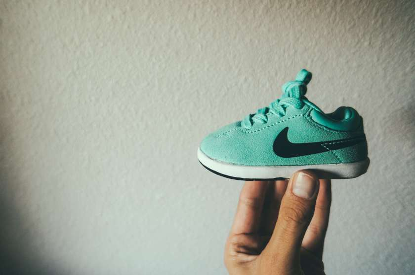 Koston baby shoes, HypeDad daddy blog